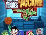 ¡Los Jóvenes Titanes en acción! ven Space Jam