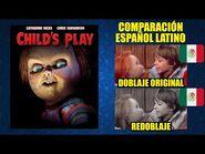 Chucky -1988- Comparación del Doblaje Latino Original y Redoblaje - Español Latino