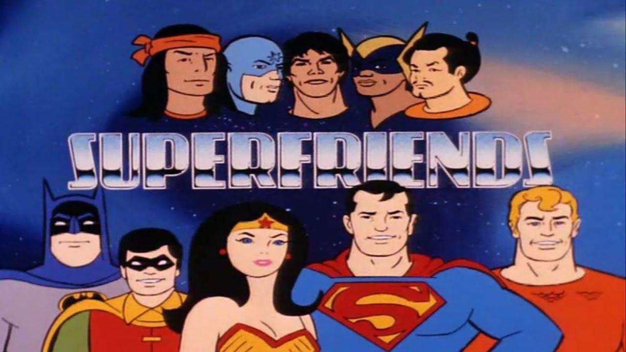 Los Súper amigos (1980)