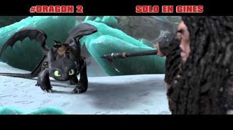 Como entrenar a tu dragón 2 - Spot 2