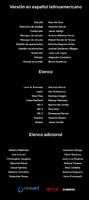 Créditos doblaje Resident Evil La tiniebla infinita (ep. 2)