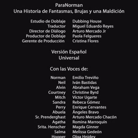 Doblaje Latino de ParaNorman.JPG