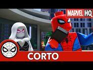 Llamando a Ghost-Spider - Lego Marvel Spider-Man- Perseguido por Venom
