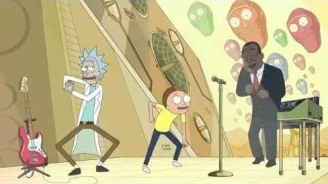 Cabeza Inclinada-Rick y Morty Latino