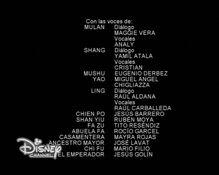 Créditos de doblaje de Mulán (TV) (DC) (1)