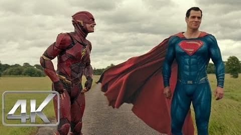 Liga De La Justicia (2017) The Flash Vs Superman 'Carrera' Español Latino