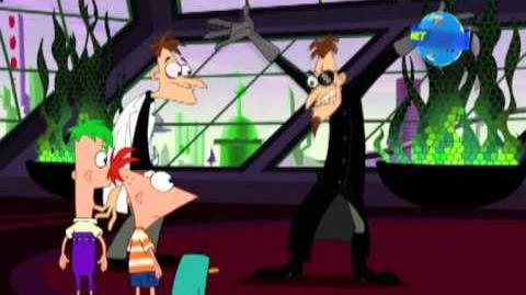 Phineas y Ferb en Disney Planet
