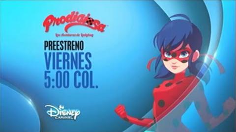 Promo Prodigiosa Las aventuras de Ladybug - Preestreno (Español Latino)