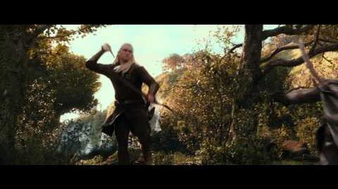 """EL HOBBIT LA DESOLACIÓN DE SMAUG - Fuego 15"""" Doblado HD - Oficial de Warner Bros"""