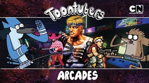 Arcade te extraño cry Golden Toontubes Riders X Toontubers Cartoon Network