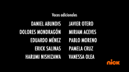 Creditos de doblaje Rise of the TMNT (Episodio 3, 2)