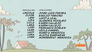Creditos de doblaje The Loud House ESLA (S320-1)