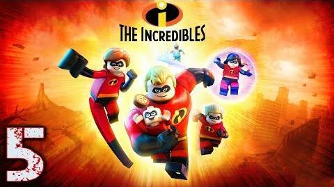 """LEGO LOS INCREÍBLES - GAMMEPLAY EN ESPAÑOL (LATINO) - EPISODIO 5 """"CASA DE LA PARR-ANDA"""""""