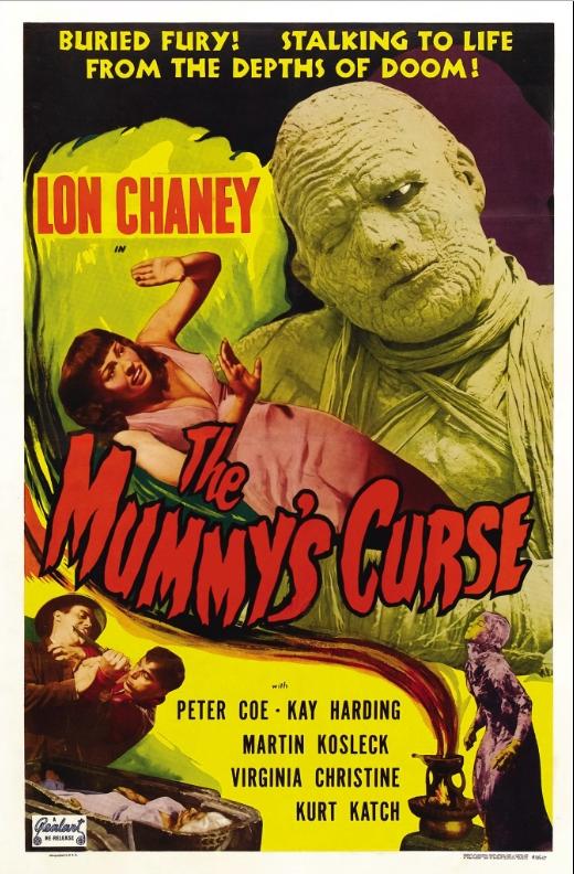 La maldición de la momia (1944)