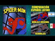 Las Nuevas Aventuras del Hombre Araña -1981- Comparación del Doblaje Latino Original y Redoblaje