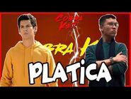 🚨🚨 Cobra Platica con Daniel Cruz Voz oficial de Miguel Diaz - Datos Cobra Kai Temporada 4 🚨🚨