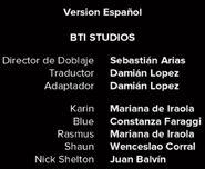 Créditos de doblaje de Black Mirror T03E06 (Netflix)
