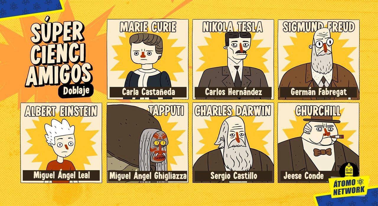 Súper Cienci Amigos