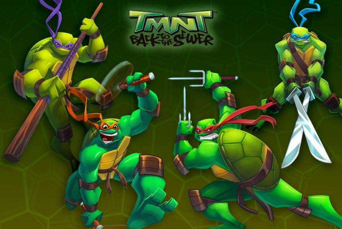 Las Tortugas Ninja de Regreso a la Alcantarilla