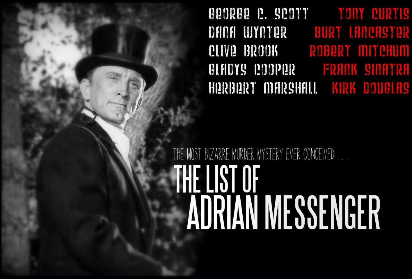 La lista de Adrián Messenger