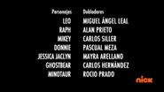 Creditos de doblaje Rise of the TMNT (Episodio 6, 1)