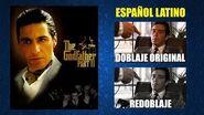 El Padrino II -1974- Doblaje Original y Redoblaje - Español Latino - Comparación y Muestra