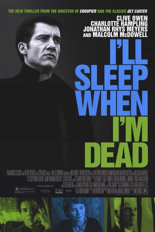 Dormiré cuando esté muerto