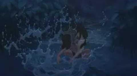 Tarzan escena hermosa