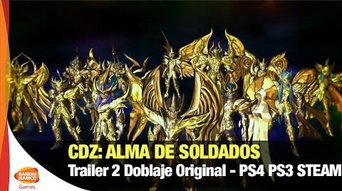 Caballeros del Zodíaco Alma de Soldados - Trailer Doblaje Oficial - Bandai Namco Latinoamérica