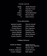 Créditos de doblaje de Power Rangers Super Patrulla Delta (DVD)