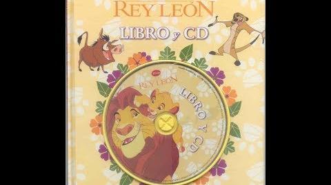 El Rey León Libro y CD (Español Latino)
