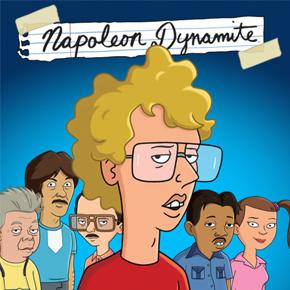 Napoleón Dinamita (serie animada)