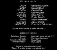 Doblaje Latino de Zack y Cody Gemelos a Bordo (3ª Temporada)