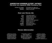 AHS Freak Show 3 - Créditos