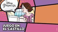 Rapunzel Juego en el castillo Disney Princesa-0
