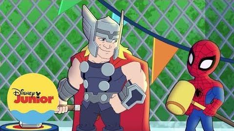 ¡Oh, oh! ¡Es Magia! Marvel Aventuras de Súper Héroes