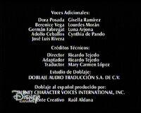Créditos del doblaje latino de Confesiones de una típica adolescente (TV) (DC) (2)
