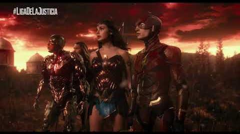 Liga de la Justicia - Guerreros 30¨ - Oficial Warner Bros