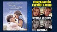 Diario de una Pasión -2004- Comparación del Doblaje Original y Redoblaje -Español Latino-