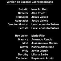 Doblaje Latino de Viva el Rey Julien (Capitulo 5)