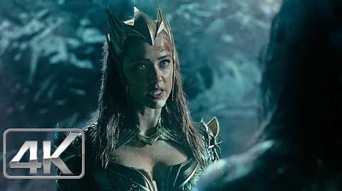 Justice League (2017) Mera & Aquaman Vs Steppenwolf Español Latino