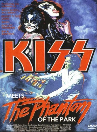 KISS contra los fantasmas del parque