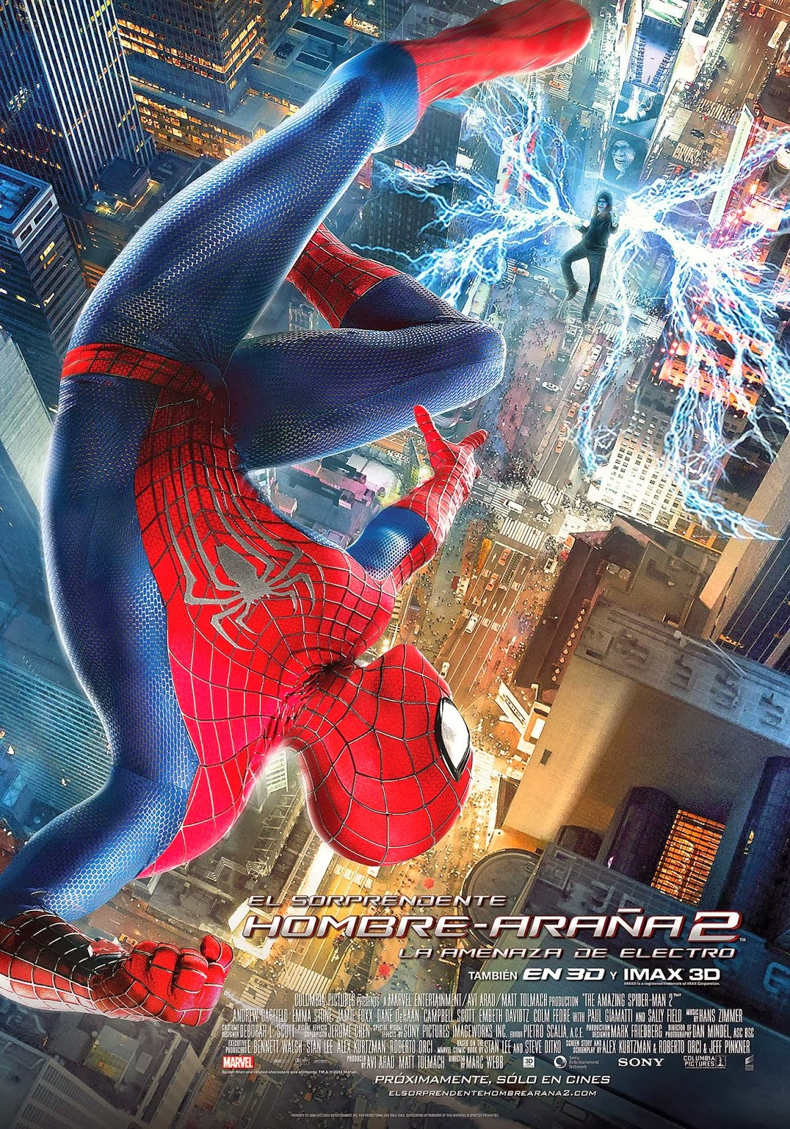 El sorprendente Hombre Araña 2: La amenaza de Electro