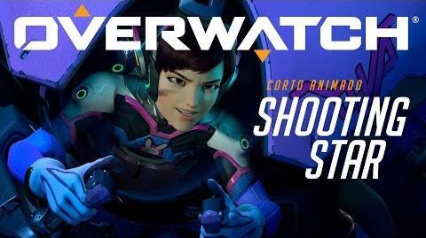 "Corto animado de Overwatch ""Shooting Star"""