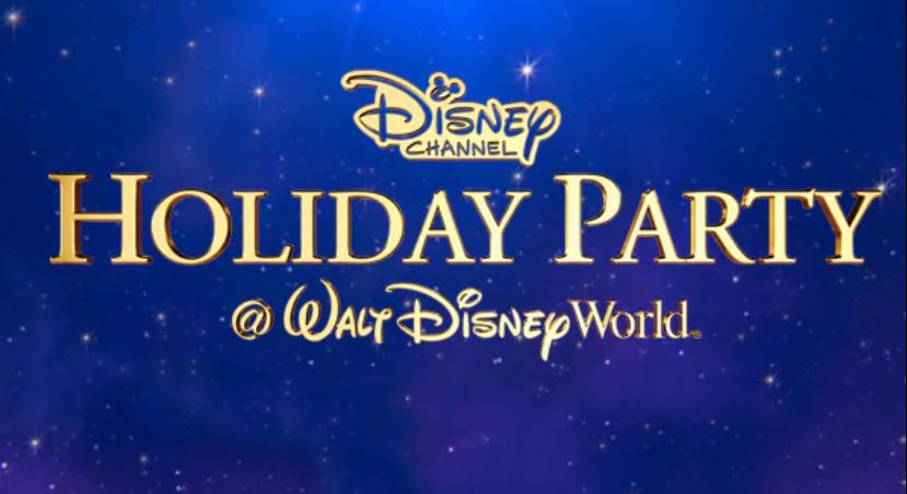La fiesta navideña de Disney Channel en Walt Disney World