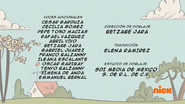 Creditos de doblaje The Loud House ESLA (S310-2)