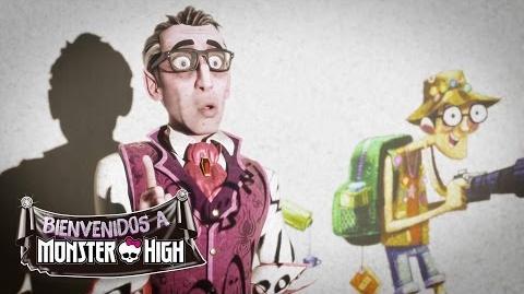 Los monstruos aprenden sobre los humanos Welcome to Monster High Monster High