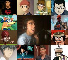 Paolo y algunos de sus personajes.jpg
