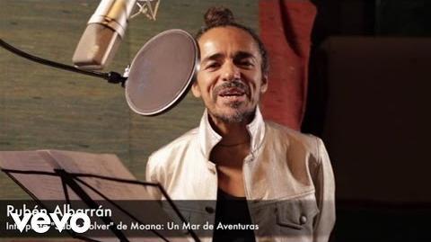 Rubén Albarrán - Doblaje Latino de Moana Un Mar de Aventuras con Rubén Albarrán