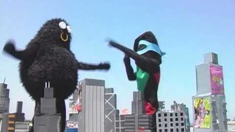 31 minutos - Calcetín con Rombos Man - Monstruo Kaibutsu